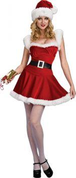 Women's Sexy Jingle Dress - Adult Medium