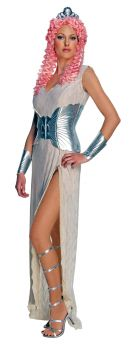 Women's Aphrodite Costume - Clash Of The Titans - Adult Large
