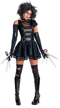 Women's Miss Scissorhands Costume - Adult Large