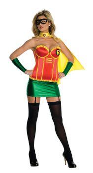 Women's Deluxe Robin Corset Costume - Adult Large
