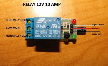 Replacement Relay for RFID Trigger