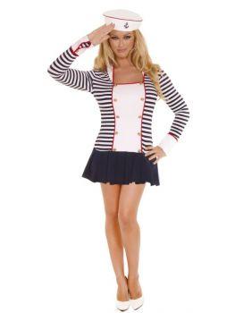 Women's Sailor Costume - Adult L (10 - 14)
