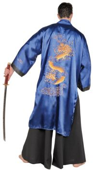 Samurai Blue Adult One Size