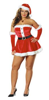 Santa's Sweetie 3x-4x