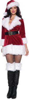 Women's Secret Santa Costume - Adult S (4 - 6)