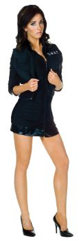 Women's Sexy SWAT Costume - Adult Large