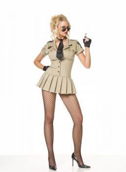 Women's Sheriff Dress - Adult Small