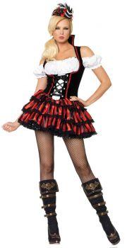 Women's Shipwreck Pirate Costume - Adult X-Large
