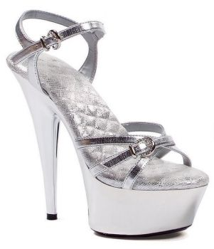 Silver Kendall Shoe - Adult Shoe 6
