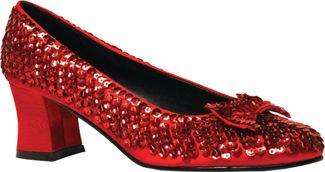Shoe Sequin Rd Womens Lg 10