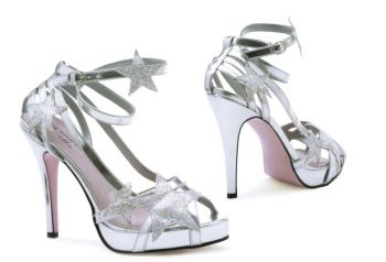 Shoe Starlight By Leg Ave Sz 7