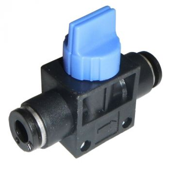 Shut-Off Valve with Push-On