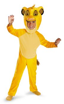 Boy's Simba Classic Costume - The Lion King - Child S (4 - 6)