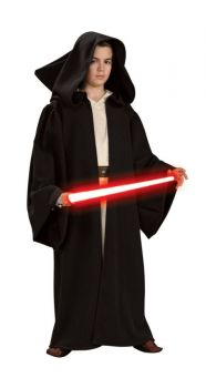 Sith Robe Hooded Child Dlx Lg