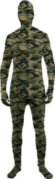 Skin Suit Camo Child Large