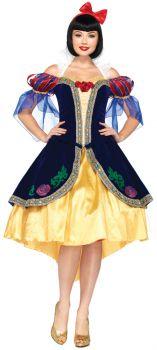 Snow White Dlx Adult Sm