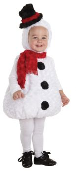Snowman Costume - Toddler Large (2 - 4T)