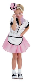 Soda Pop Girl Child Costume Sm