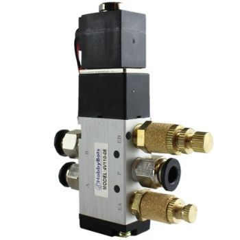 4-Way 5-Port Valve with 1/8 Inch Ports