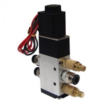 4-Way 5-Port Valve with 1/4 Inch Ports
