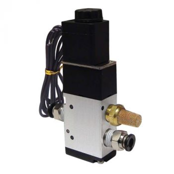 3-Way Valve with 1/8 Inch Ports