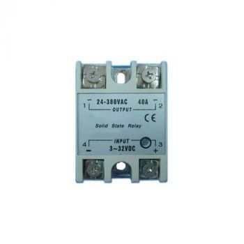 Solid State Relay (DC Activated/ 40A AC Load)