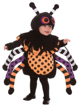 Spider - Toddler Large (2 - 4T)