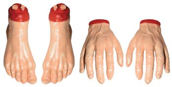 Hands & Feet In Bag - 2 Each