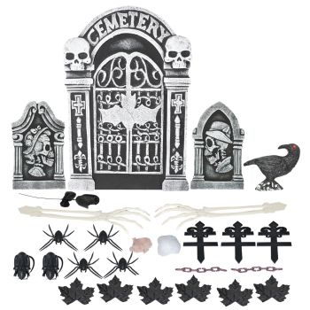 Tombstone Set - 26 Pieces