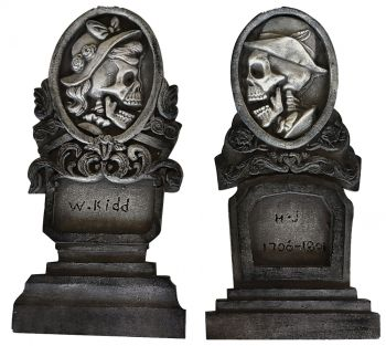 Tombstone Set Bride & Groom