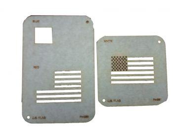 Stencil American Flag