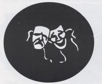 Stencil Comedy Tragdy Steel