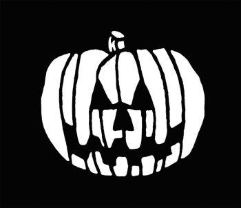 Stencil Pumpkin Stainless