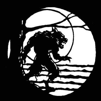 Stencil Werewolf Stainless