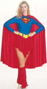 Women's Supergirl Costume - Adult Large