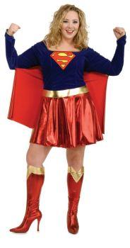Supergirl Plus Size
