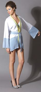 Kimono Robe - Blue - Adult Medium