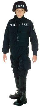 Boy's SWAT Costume - Child L (10 - 12)