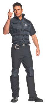 SWAT Costume - Adult OSFM