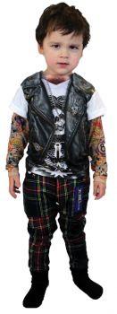 Tattoo Long Sleeve Youth Lg