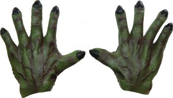 Monster Hands Latex - Green