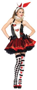 Women's Tea Party Bunny Costume - Adult M/L