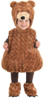 Teddy Bear Costume - Toddler Large (2 - 4T)