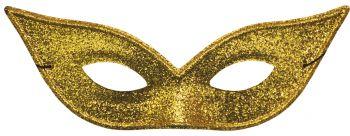 Lame Harlequin Mask - Gold