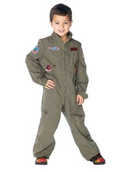 Top Gun Flight Suit Costume - Toddler (3 - 4T)