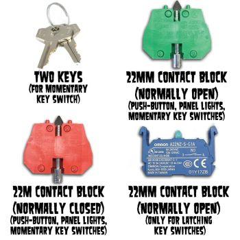 2mm Contact Blocks
