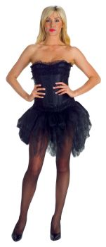 Tutu Black Short Front Long Ba