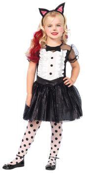 Tuxedo Kitty Costume - Child Medium