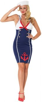Women's Ahoy There Hottie Costume - Adult S/M