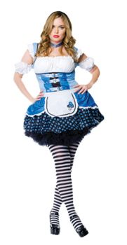Women's Mushroom Alice Costume - Adult X-Large